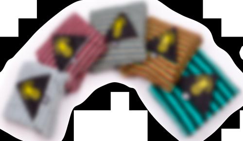 Ananas Surf surfboard socks, soft bag blur