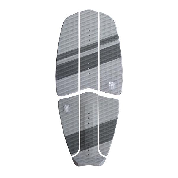 Ananas Surf kitesurfboard gray traction pad set