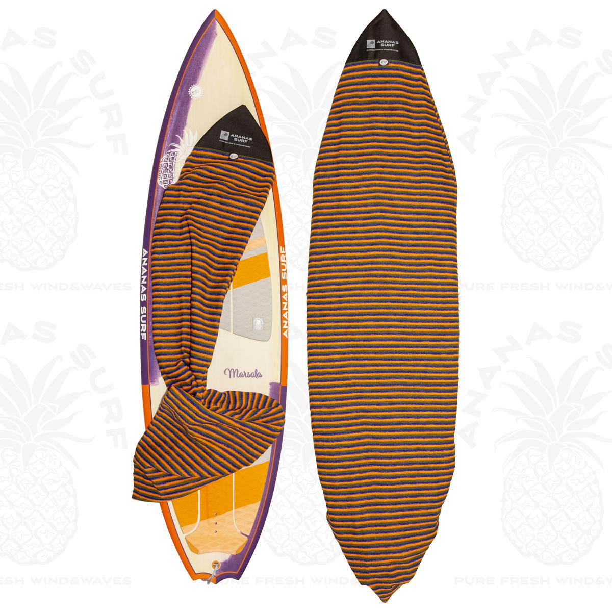"""Ananas Surf kitesurf board soft bag 6'0"""" sock"""
