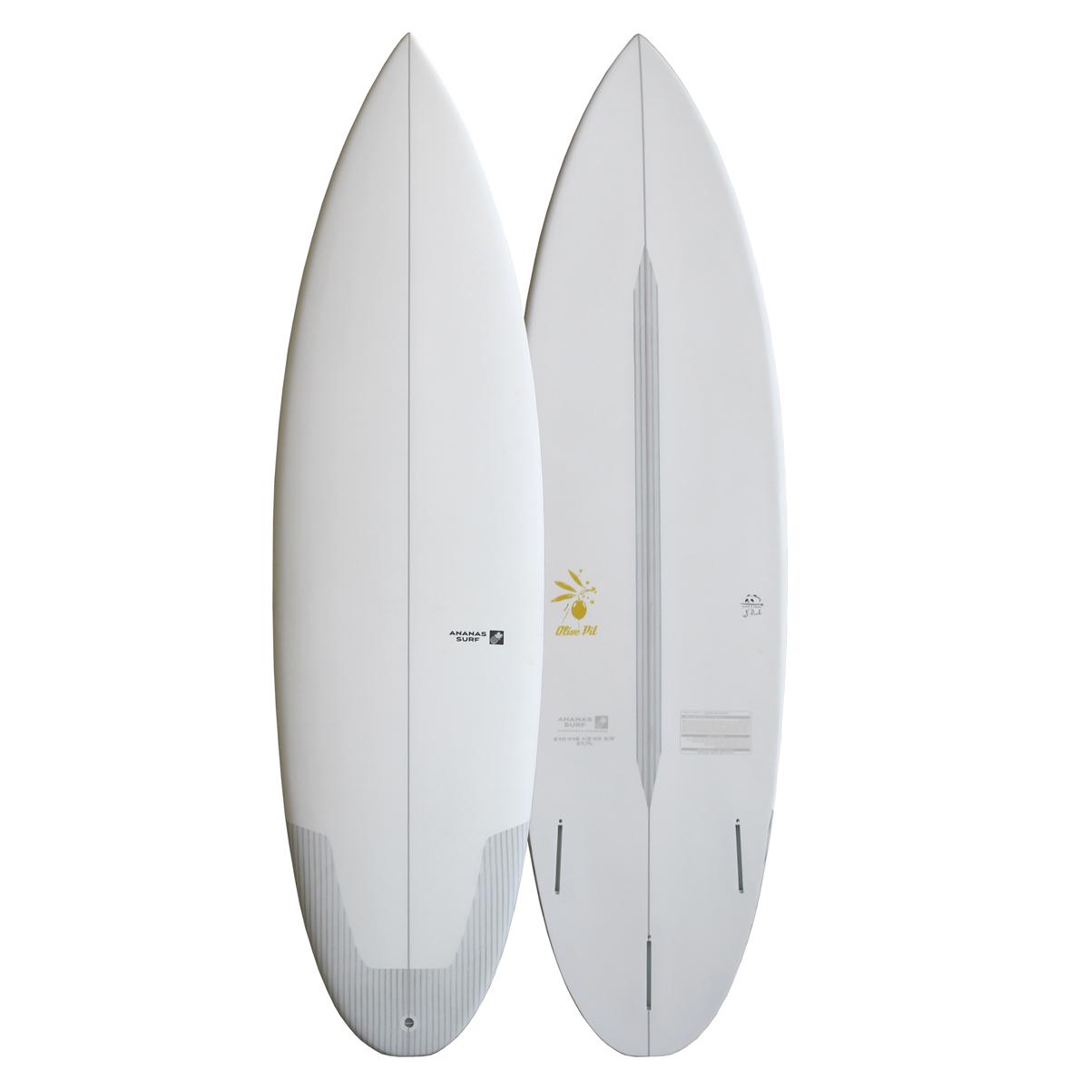 Ananas Surf Olive Pit shortboard