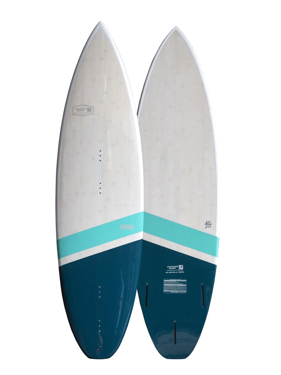 "Ananas Surf Indigo kitesurfboard 6'1"" 2018 green bamboo"