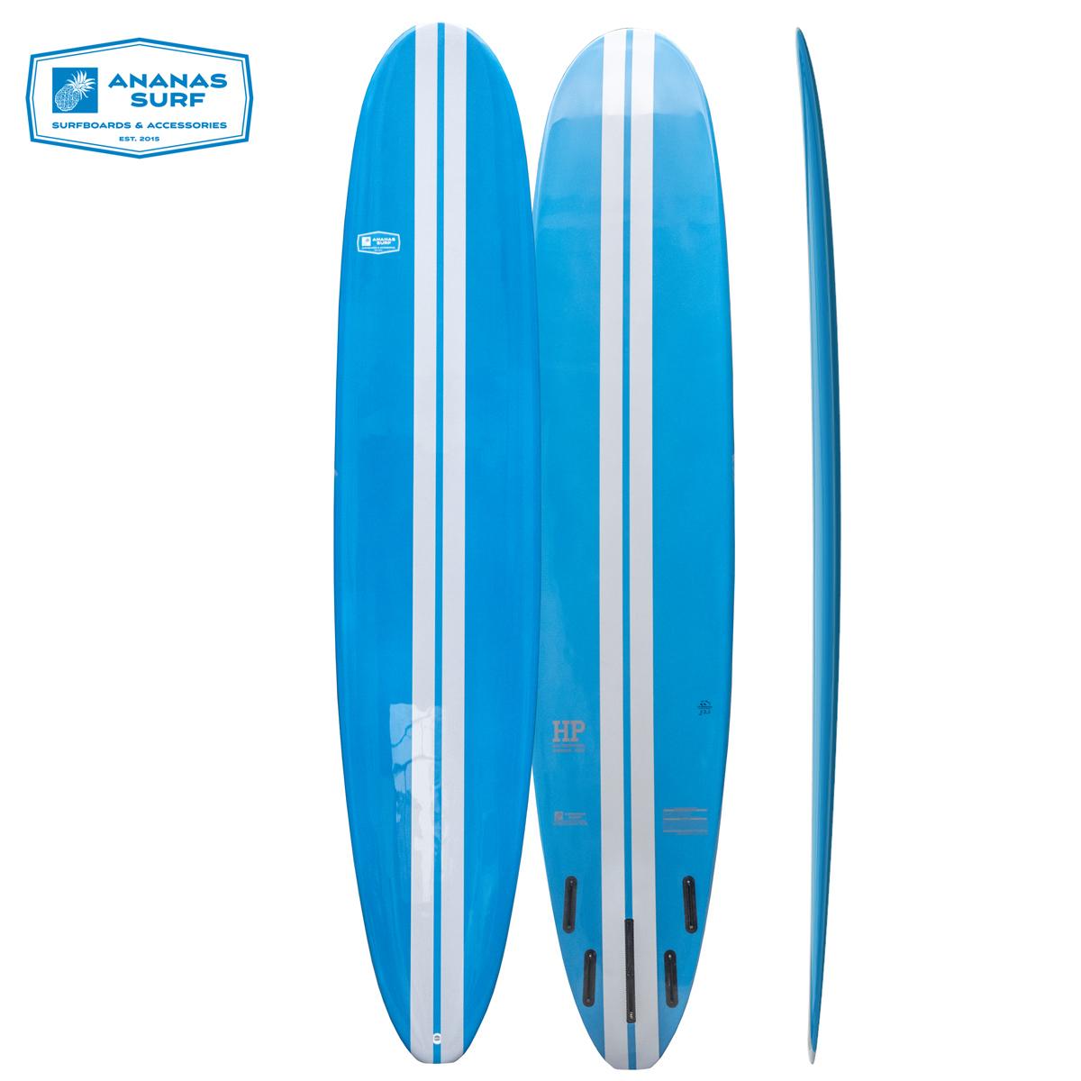 Ananas Surf High Perfomance longboard surfboard 2019 blue