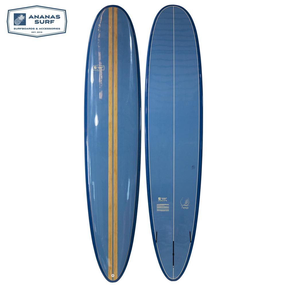 Ananas Surf Longboard Papaya Blue Sea